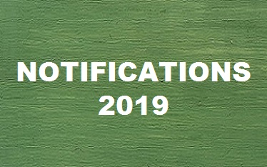 GOVERNMENT OF THE PUNJAB NOTIFICATIONS – 2019 – Employees Zone
